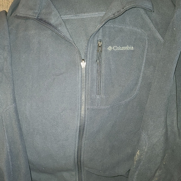 Columbia XXL Mens Full Zip Microfleece Jacket